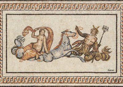 Riproduzione di mosaico romano / Copy of Roman mosaic