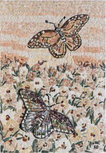 Farfalle in rilievo / Butterflies in relief