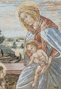 Madonna con Bimbo e san Giovannino del Botticelli