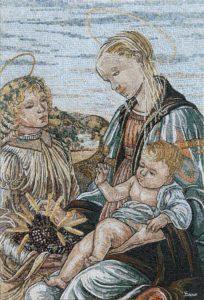 Madonna dell'Eucarestia del Botticelli