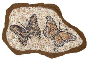 Farfalle nel sasso - Butterflies in the stone