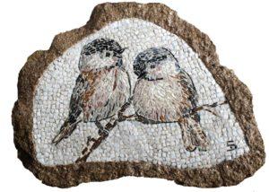 Passerotti nel sasso - Sparrows in the stone